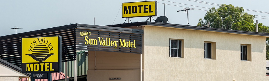 With our secure online booking site, you can make your accommodation booking at Sun Valley Motel Biloela.